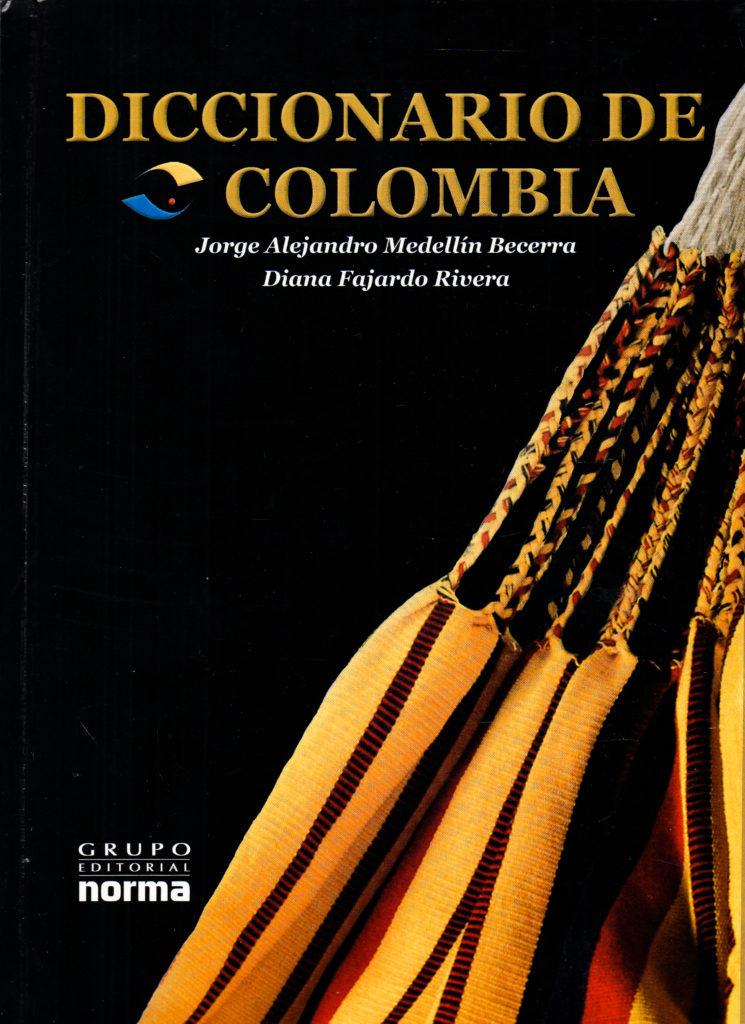 Portada del Diccionario de Colombia, edición especial.